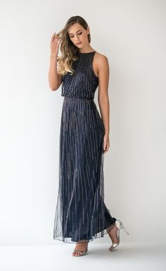 Beaded Mesh Premium Charlize Gown   This dress is one of 100 individually crafted Limited Edition pieces. This standout piece exudes elevated style and is a stunning choice for your next event. 21st Dresses, Evening Dresses, Buy Dress, Dress Ideas, Mesh, Gowns, Pants, Jackets, Stuff To Buy
