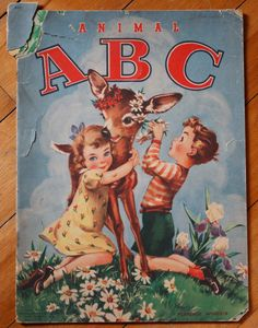 ''Animal ABC'' by Whitman Publishing, printed in 1945, illustrated by Florence Sarah Winship