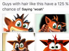 "Crash Bandicoot ""Woah"" 