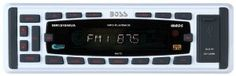 Boss Audio MR1315WUA Marine MP3 Compatible Digital Media Receiver by BOSS. $75.57. From the Manufacturer                Marine MP3 - Compatible Digital Media Receiver, AM/FM/RDS, USB and SD Card Ports, Front Aux In, Wireless Remote, 60w X 4 (White)                                    Product Description                Marine MP3 - Compatible Digital Media Receiver, AM/FM/RDS, USB and SD Card Ports, Front Aux In, Wireless Remote, 60w X 4 (White)