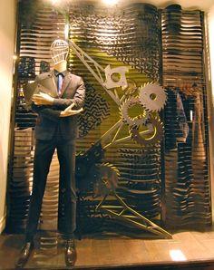"""KENZO Paris,""""the mechanical workshop"""", pinned by Ton van der Veer"""