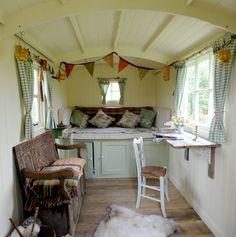 Roundhill Shepherd's huts