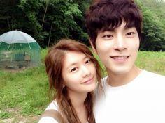 Jung So-min and Hong Jong-hyun