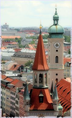 Old Munich, Germany. Such a beautiful and interesting place, I would love to go back and visit again.