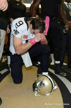 This says so much!!!! Drew Brees - Who Dat!