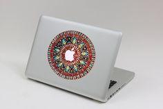 Flower  macbook decal mac pro decals macbook van MixedDecal op Etsy