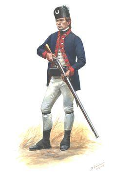 """Fuciliere del 2 rgt. fanteria americana continentale """"South Carolina"""" - Don Troiani"""