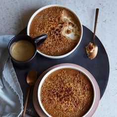 Rezept: Kaffee-Crème-Brûlée. 15 Minuten.