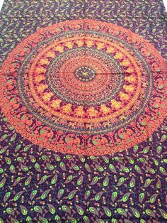 Twin Hippie Indian Mandala Tapestry Wall Hnging Picnic Beach Throw Boho Decor #Unbranded #ArtDecoStyle