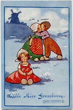 Agnes Richardson Dutch Children Little Miss Gooseberry
