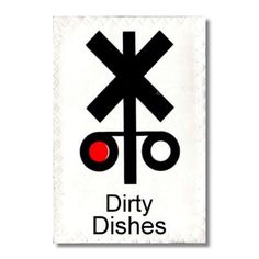 Items similar to Dishwasher Clean Dirty Mini Flip Magnet Sign Train Signal Red Dirty Green Clean cute home decor Wife Gift on Etsy
