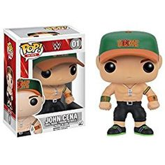 WWE: John Cena Never Give Up POP Figure Toy 3 x 4in