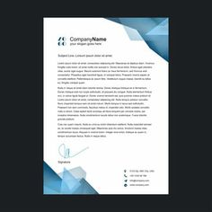 Business letterhead Template Free Letterhead Template Word, Letterhead Logo, Letterhead Business, Letterhead Design, Business Card Design, Business Cards, Page Borders Design, Page Layout Design, Graphic Design Flyer