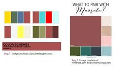 Try Marsala on your walls without the paint at www.dzinesteps.com/blog.