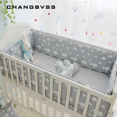 Sporting 120*70cm 6pcs Pure Cotton Baby Bed Bumper Removable Newborn Baby Bedding Crib Bumper Baby Room Decor Kids Bedding Complete Range Of Articles Baby Bedding Back To Search Resultsmother & Kids