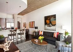 Living Room, Apartment Room Ideas On A Budget Dark Gray Wall Color Small White Sofa Brow Leather Rooms Decorating Flooring Ideas: Finance Management for a on