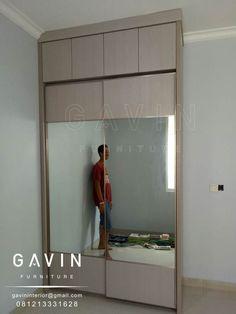 contoh hasil produksi lemari pakaian gavin Lemari Sliding Full Plafon Model Minimalis Anda yang sedang mencari tahu bagaimana lemari sliding dengan ukuran tinggi mencapai plafon. Dan berikut ini ad…
