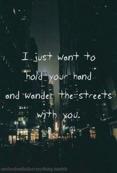 I just want to...