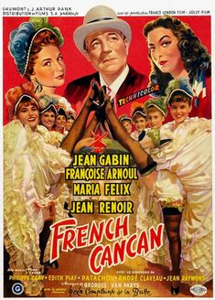 Buy online, view images and see past prices for Moulin Rouge French Cancan avec Jean Gabin film de Jean Renoir Invaluable is the world's largest marketplace for art, antiques, and collectibles. Jean Renoir, Love Film, Love Movie, I Movie, Alexandre Le Bienheureux, Film Mythique, Film France, Look Alike, Movie Posters