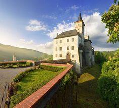 Rožmberk castle (South Bohemia), Czechia