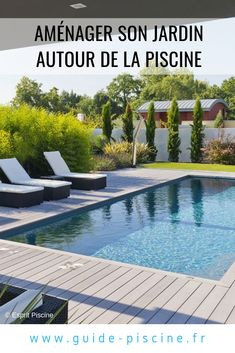 Modern Pool And Spa, Modern Pools, Amazing Swimming Pools, Garden Pool, Modern Design, Sweet Home, Relax, Construction, World