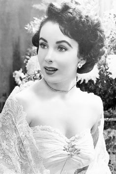Elizabeth Taylor on the set of Father of The Bride, 1949.