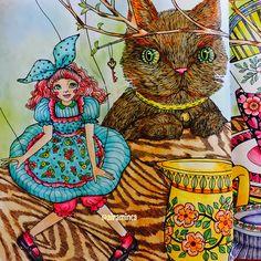Pinocchio... all done using Derwent Inktense. Swipe to view the 2-page spread. #themysteriouslibrary #신비한숲속도서관 #eunjipark #pinocchio #derwentinktense #adultcoloringbook #coloring #creativelycoloring #wonderfulcoloring #coloringforgrownups #artecomoterapia #coloring_secrets #beautifulcoloring #adultcolouring #boracolorirtop #majesticcoloring #coloriage #bayan_boyan #colorindolivrostop #kolorowanka #desenhoscolorir #mycreativeescape #artoftheday #大人の塗り絵 #målarbokförvuxna