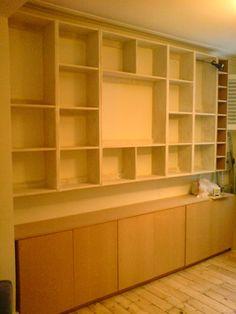 Shelving » Richard Sothcott Brighton Carpentry
