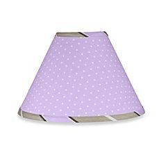 image of Sweet Jojo Designs Mod Dots Lamp Shade in Purple