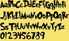 Dr. Seuss font