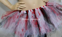 Zombie tutu  Run for your lives by RaceJunkie on Etsy, $43.00