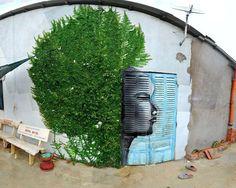 32 fantastische voorbeelden van street art die perfect in hun omgevingen passen | Flabber