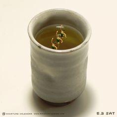 2015.5.2(土)/「あ、茶柱立ってる。」 今日は緑茶の日です。
