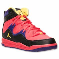 Girls' Preschool Jordan Flight TR 97 Basketball Shoes | FinishLine.com |  Fusion Red