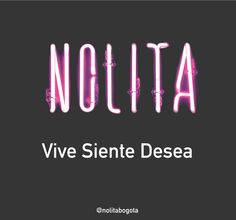 En Nolita cocinamos felices, somos amantes de nuestra mistica www.nolita.co