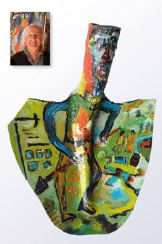 the online-gallery: Marjan Outsider Art, Art Brut, Naive, Creative Inspiration, Folk Art, The Outsiders, Street Art, Sculpture, Gallery