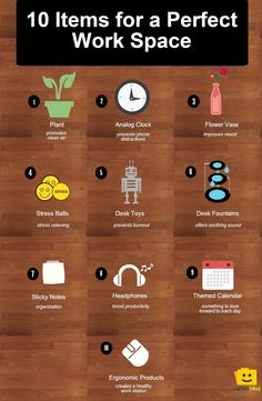 10 Desk Items to Cre
