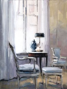 David Lloyd - Artblog: Blue Chairs