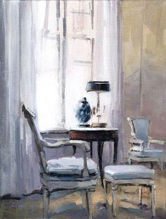 David Lloyd - Artblog: Blue Chairs
