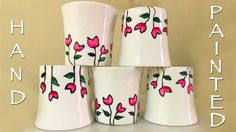 Hand Painted Cups | Redesign your Tea Set