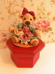 Available- Miss Teddi Bear. $55.00, via Etsy.
