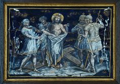 Stations of the Cross: Ten: Jesus is Stripped of His Garments