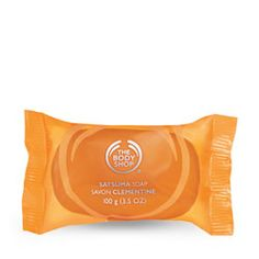 At The Body Shop at the mall-   Satsuma Soap: You just have to remember to let these soaps cure overnight and get hard outside the packaging. If you do this it will last at least 5 times longer!! 4/ $10.00