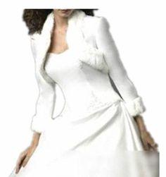 IVORY/ WHITE Long Sleeves Faux Fur Special Occasion Wedding Jacketr Shrug/Prom Bolero Wedding Shawl For dresses party prom gown ball (IVORY SIZE 20) LondonProm http://www.amazon.co.uk/dp/B00GXBY6BO/ref=cm_sw_r_pi_dp_RPMuub1HQ9B33