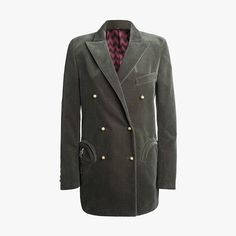 """""""The dressy blazer is a sartorial savior. Great with jeans, yes, but why not embrace Pre-Fall's natty '70s skinny tailoring and pair this sharp jacket with lean flares. Be chic like a butterfly, sting like a CEO . . . or something like that."""""""