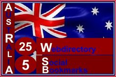do Manually in top quality 25 australia webdirectory and 5 soc... by bookmarkquality