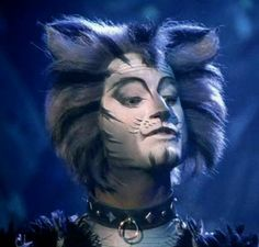 Munkustrap is definitely one of my favorite makeups. Theatre Geek, Musical Theatre, Broadway Theatre, Theater, Cats That Dont Shed, I Love Cats, Michael Gruber, Jellicle Cats, Teatro Musical