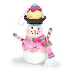 Mr. Cupcake Snowman