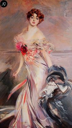 Giovanni Boldini | Madame Marthe Régnier