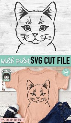 Cricket Cutter, Face Stencils, Animal Stencil, Flower Svg, Cat Signs, Textiles, Animal Faces, Cat Face, Svg Files For Cricut